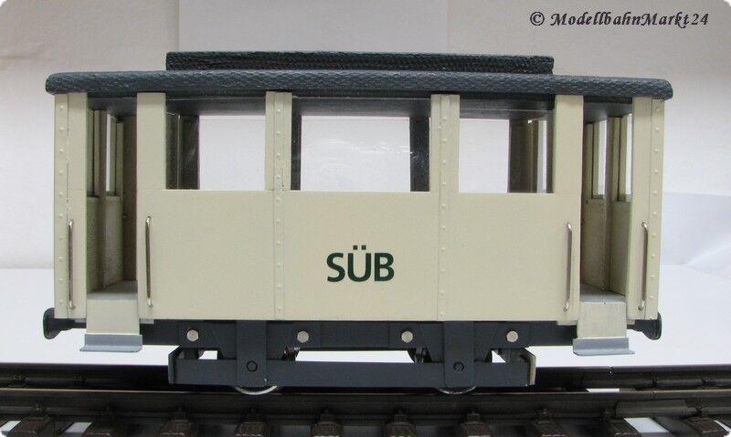 Straßenbahn Straßenbahn Straßenbahn Anhänger der SÜB aus Eigenbau Schmalspur  | Sonderkauf  12fdbd