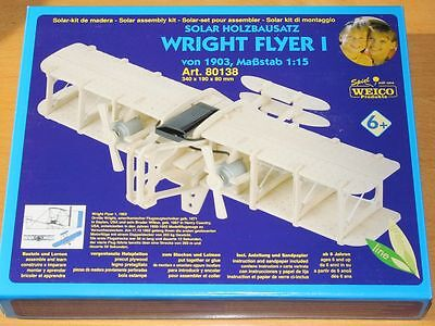 Doppeldecker Solar Holzbausatz von Weico Flugzeug