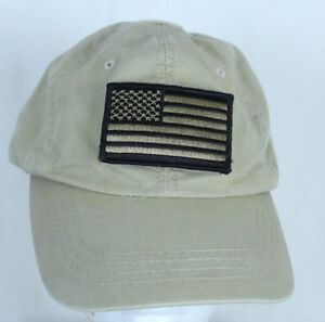 US Flag Tan Removable Patch Tactical Gear Ball Cap Trucker Hat ... 0a3f90df7f5