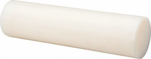 Long 2 Inch Diameter Made in USA 1 Ft Nylon 6//6 Plastic Rod Natural