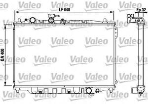 VALEO Engine Cooling Radiator Fits MAZDA 626 Capella Telstar Wagon 1982-1997