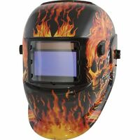 Speedway Solar Powered Auto Darkening Welding Helmet Mpn/model 7664 on sale