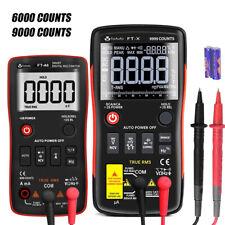 Digital Multimeter Ac Dc Voltmeter Ammeter Ohmmeter Volt Buttontester 60009000c