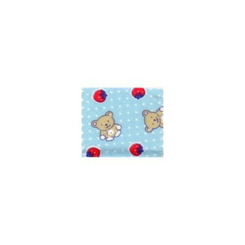 30mm Teddy Bears Strawberries Cotton Bias Binding 2m or 25m