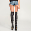 Black-OVER-THE-KNEE-PLATFORM-BOOTS-6-034-stiletto-high-heel-UK1-9-EU34-42-custom thumbnail 4