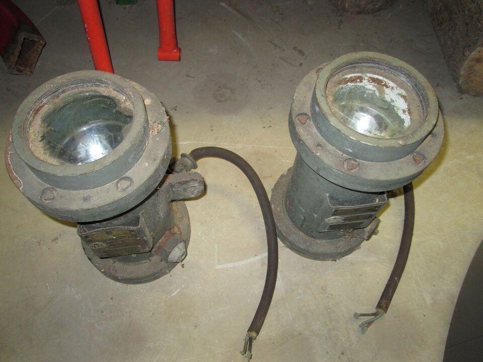 Projektører til minedrift