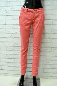 Pantalone-TOMMY-HIILFILGER-Donna-Taglia-40-Jeans-Pants-Woman-Cotone-Slim-Skinny