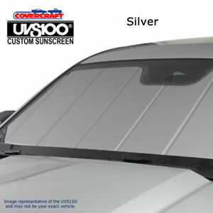 Silver Series Custom Fit Windshield Shade for Select Dodge Ram 2500//3500 Models Covercraft UVS100 Triple Laminate Construction