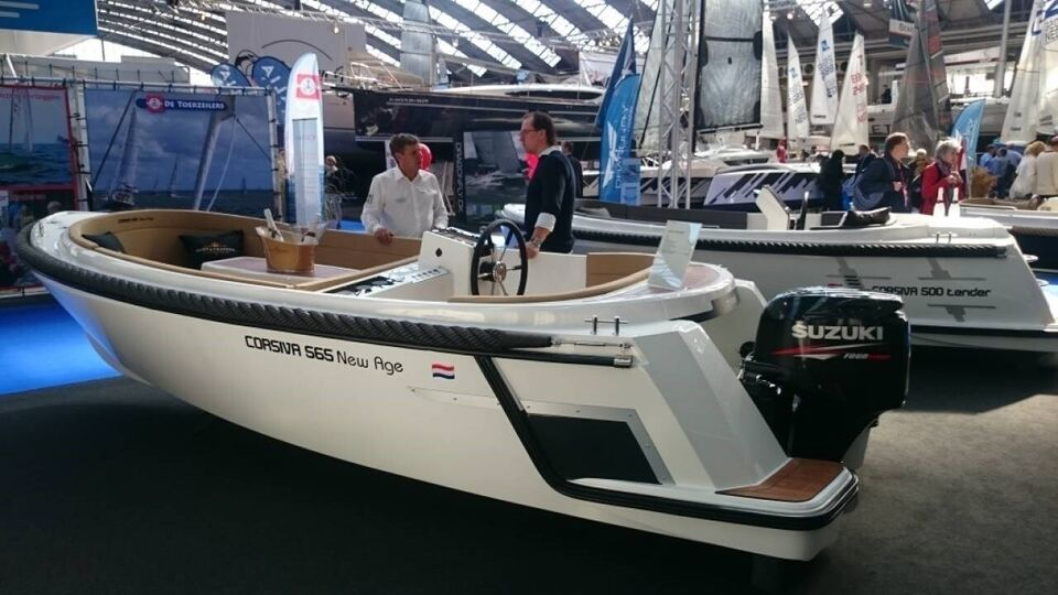 Corsiva 565 New Age - 25 HK Yamaha/Udstyr, Motorbåd, fod 18