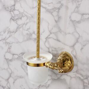 Vintage Style Bathroom Wall Mounted Toilet Brush Holder Luxury Bath Accessories Ebay