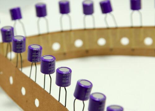 Sanyo 16V 10UF OScon os con orgánico elegir Audio Condensador Japón Nuevo X 10 Piezas