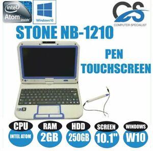 WINDOWS-10-STONE-NB-1210-10-1-034-TOUCHSCREEN-LAPTOP-INTEL-ATOM-2GB-DDR3-250GB-HDD