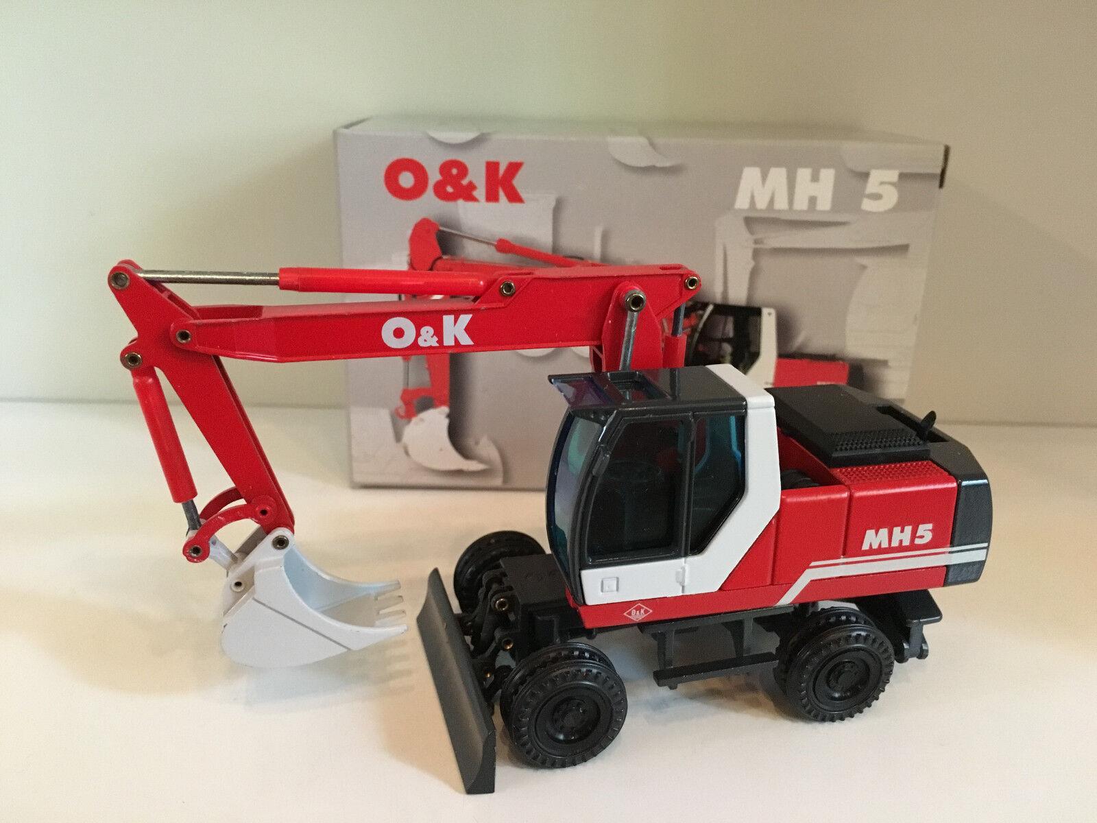 O&K MH 5 Mobilbagger von NZG 457 in 1 50 OVP
