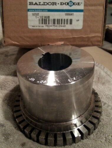 "Details about  /BALDOR DODGE 1070T 1-1//2/"" HUB 6641 STEELFLEX COUPLING TAPER LOCK NEW A382"