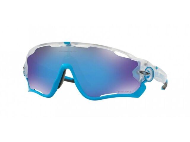 6b74c8af48e92 Sunglasses Oakley Jawbreaker 9290-40 Matte Clear Azure Prizm ...