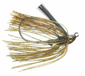 Nichols-leurres-SSJ02-38-Saber-Swim-Jig-Grassy-Craw-3-8-Oz
