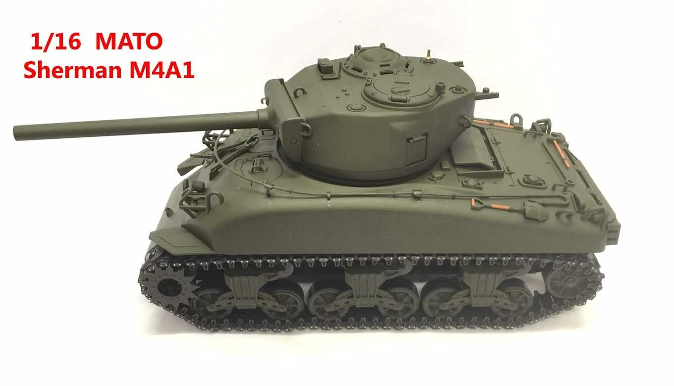 Mato Tank Sherman 1 16 M4A1 BN -- Perfect and Correct Model for British Firefly