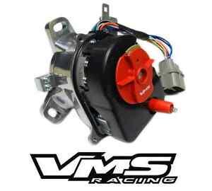 VMS-RACING-HIGH-PERFORMANCE-POLISHED-DISTRIBUTOR-COIL-92-95-CIVIC-VTEC-BILLET
