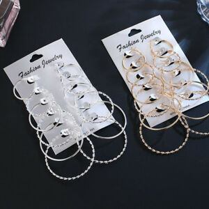 6-Pairs-Fashion-Women-Gold-Silver-Hoop-Ear-Stud-Jewelry-Lady-Round-Earrings-Gift