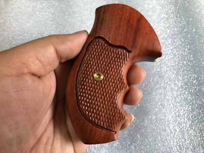 TAURUS SMALL FRAME NEW HARDWOOD GRIP FOR TAURUS M 85 .38 SPECIAL 2""
