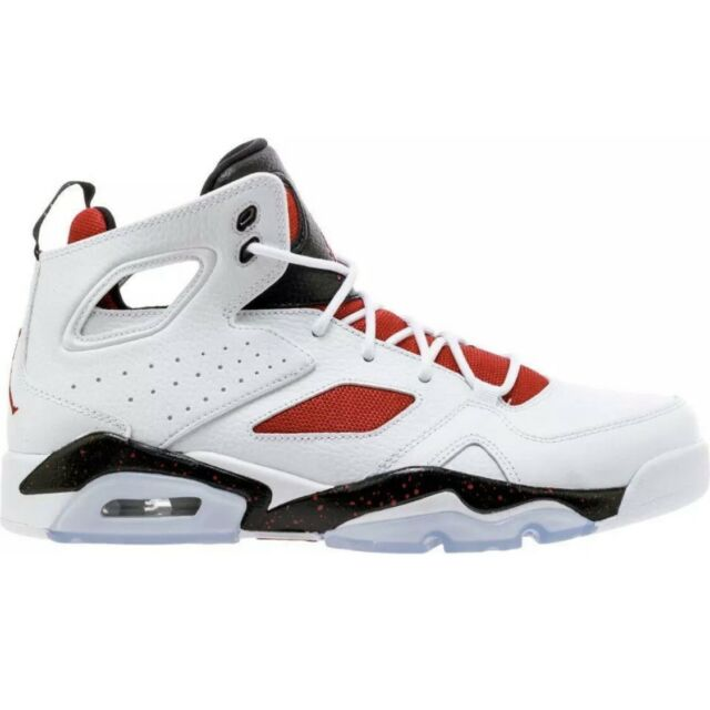 separation shoes 39431 5abef Air Jordan Flight Club  91 Basketball, White Black Red - Size