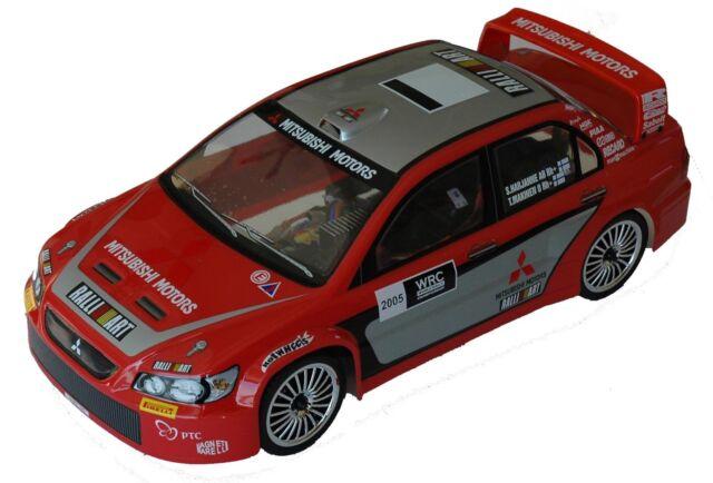 1:10 RC Clear Lexan Body Mitsubishi Lancer WRC EVO 200mm Nitro or Electric Colt