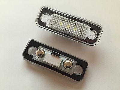 2x LED SMD Kennzeichenbeleuchtung Chrysler Crossfire Roadster Cabrio / 1103-4D