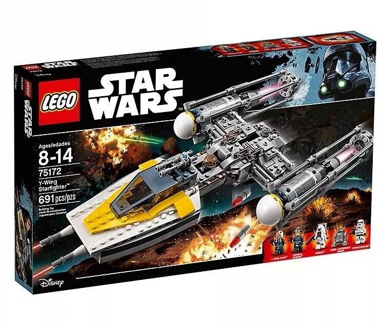 New & Sealed Lego Star wars 75172, Y-Wing Starfighter Retired And Rare