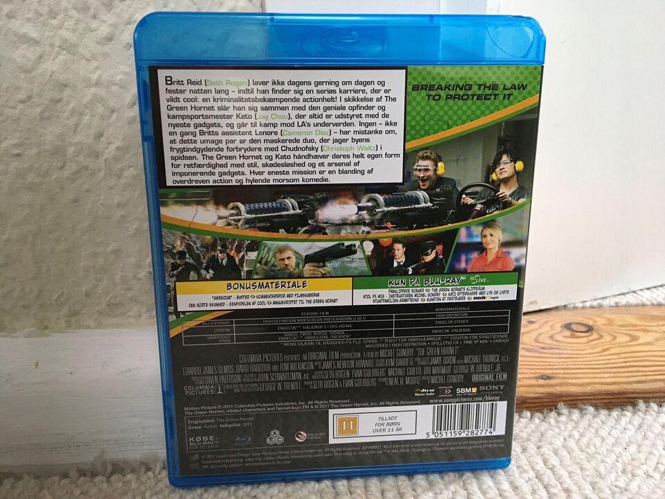 THE GREEN HORNET, instruktør MICHEL CONDRY, Blu-ray