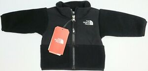 NWT-69-The-North-Face-Full-Zip-Black-Fleece-Jacket-Infant-Size-0-3M-Boys-Girls