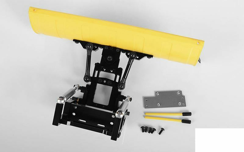 RC4WD Super Duty Blade Snow Plow YELLOW Z-X0043 Swival raise 228mm ABS & Ally