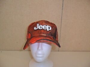 JEEP-HAT-CAMOUFLAGE-ORANGE-FREE-SHIPPING-GREAT-GIFT-729