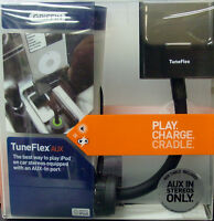 Griffin Tuneflex Hands-free Music Aux & Car Charger For Apple Iphone 4 & 4s