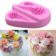 Silicone Mold Gum Paste Lace Fondant Mould Cake Decorating DIY Baking Tool Neu