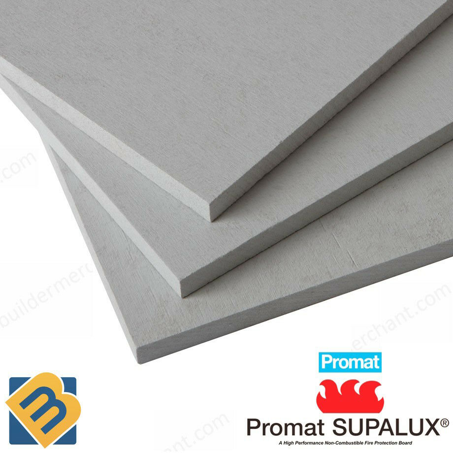Promat supalux fireboard supalux board fire proof board for Fire resistant house siding material hardboard