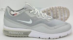 Nike Air Max Sequent 4 Baskets BQ8822-002 Gris/Blanc UK8/US9/EU42.5
