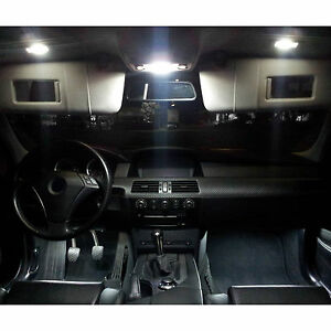 9X Premium SMD LED Innenraumbeleuchtung Für SEAT Leon 1P Facelift Weiß 12V DHL