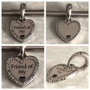a68c29742 Image is loading NEW-Authentic-Pandora-792147CZ-Hearts-of-Friendship-Dangle-