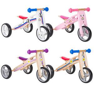 Dettagli Su Bikestar 2 In 1 Bicicletta Senza Pedali E Triciclo Bambini Bimbo Bimba Mesi 18