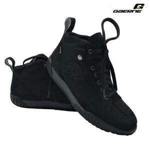 Schuhe Motorrad Sport Urban Line Wasserdicht GAERNE G-Razor Gore-Tex Schwarz