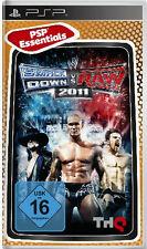 PSP Essentials Gioco WWE SmackDown vs. Raw 2011 Smack Down W VS RAW wrestling ne