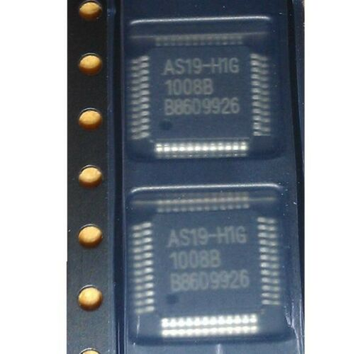 5PCS AS19-H1G AS19 E-CMOS LCD POWER SUPPLIES FOR REPAIR QFP48 IC NEW
