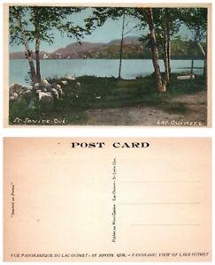 CANADA-Postcard-Quebec-St-Jovite-Lake-Ouimet-B17