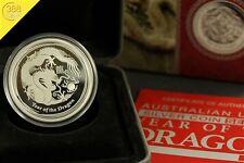 Australien Lunar II Drache Dragon 1/2 Unze oz Silber 2012 PP