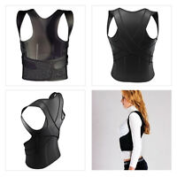 New 3D Therapy Posture Corrector Back Shoulder Support Brace Straightener Unisex
