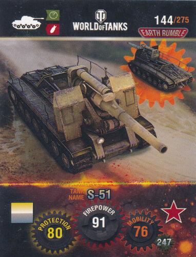Panini World of Tanks trading cards nº 144-Name s-51