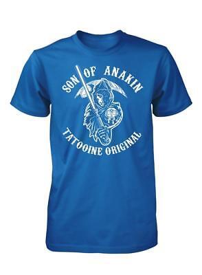 Bnwt Figli Di Anakin Tattooine Originale Anarchy Bianco T-shirt Adulto S-xxl-mostra Il Titolo Originale Squisita Arte Tradizionale Del Ricamo