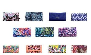 NWT-Authentic-Vera-Bradley-Trifold-Wallet