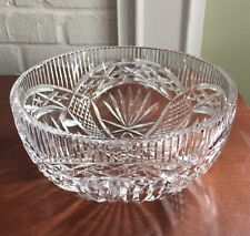 "Waterford Crystal~~8"" Salad Bowl~~Master Cutter Collection"