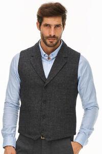 129 New Designer Black Vest Dstrezzed Men € XTFA0xzw